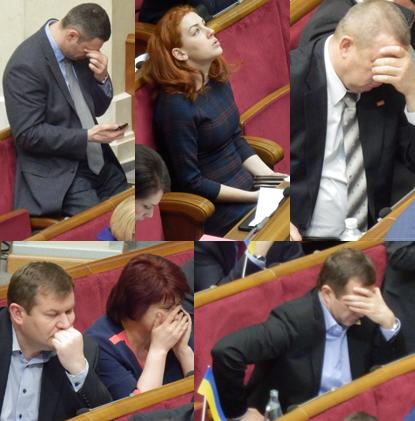 Parliamentary Frustration – War inUkraine