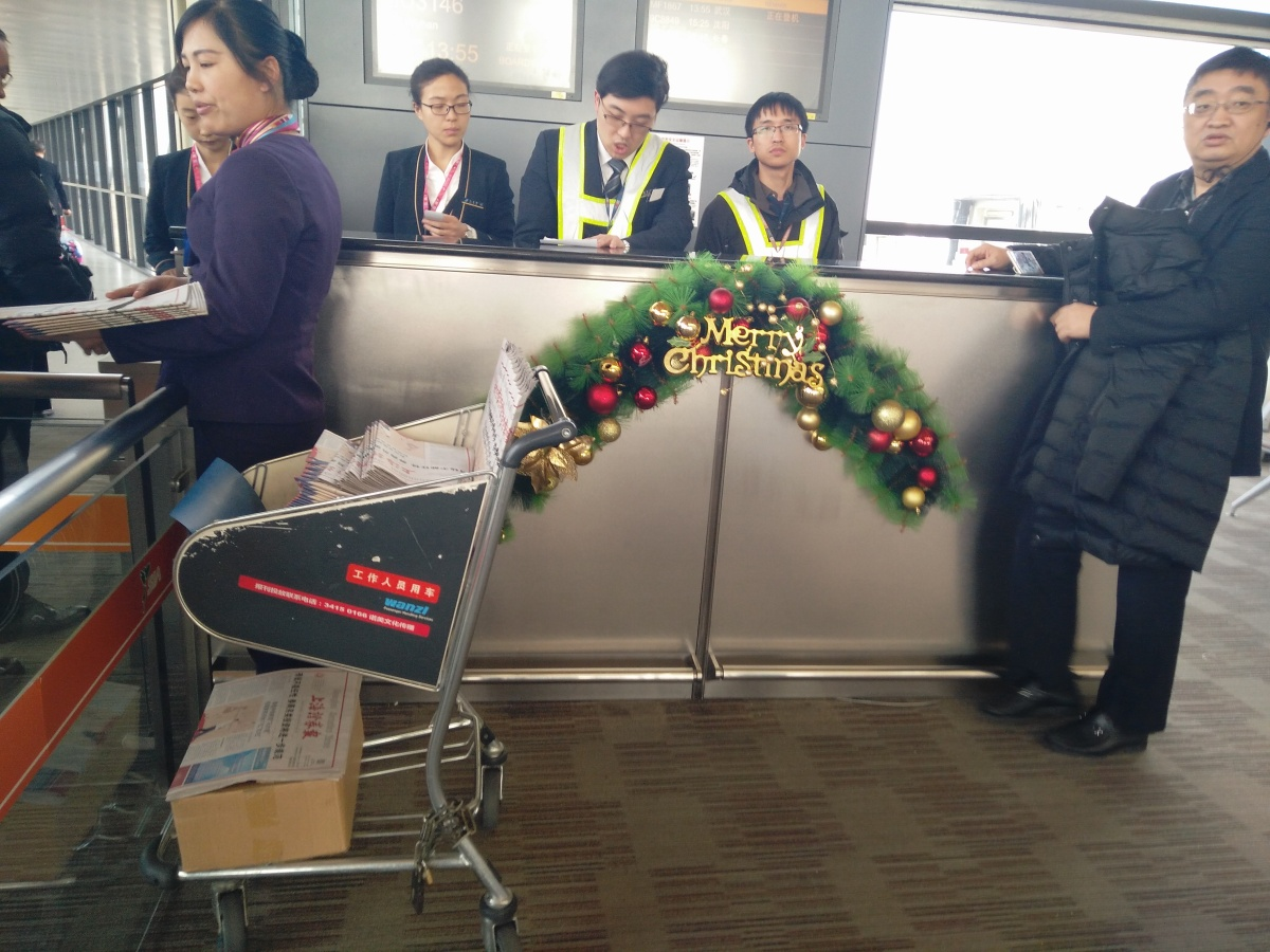 Returning Home to China & the Quirks of ChineseAirports