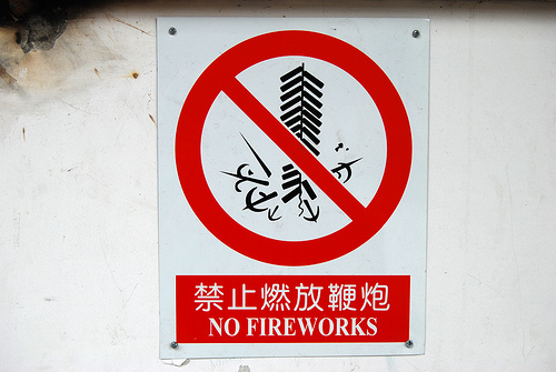 Why are there Daily Fireworks in China?