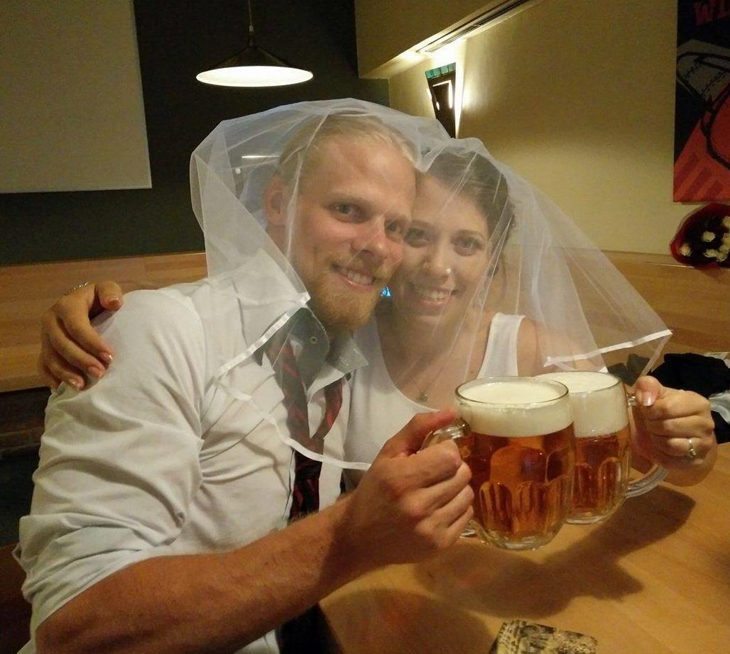 Celebrating One Year of Marriage inChina