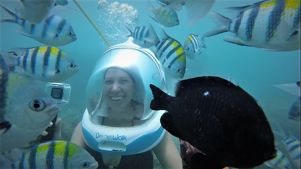 Bali 2018: SeawalkerExperience