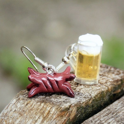 10 Most Bizarrely Awesome Food-Themed Earrings