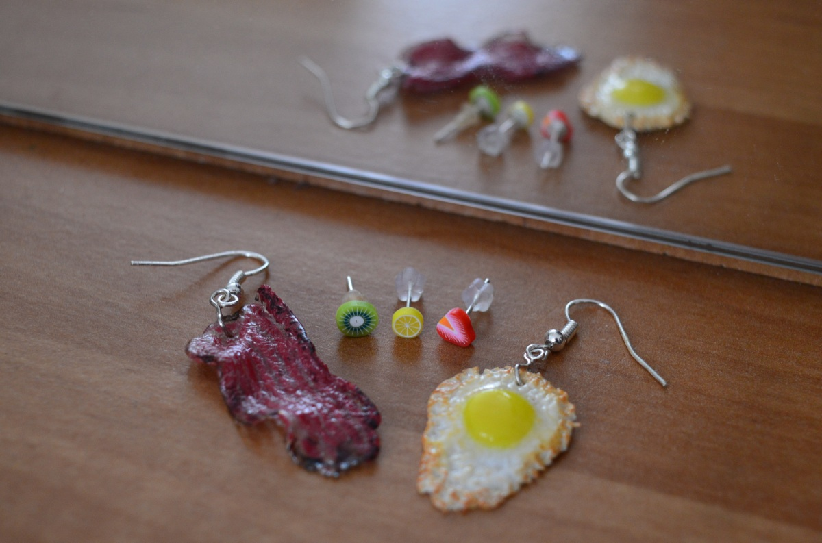 How to Wear Food-Themed Earrings? Part2