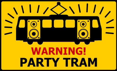 Abducted by a Party Tram