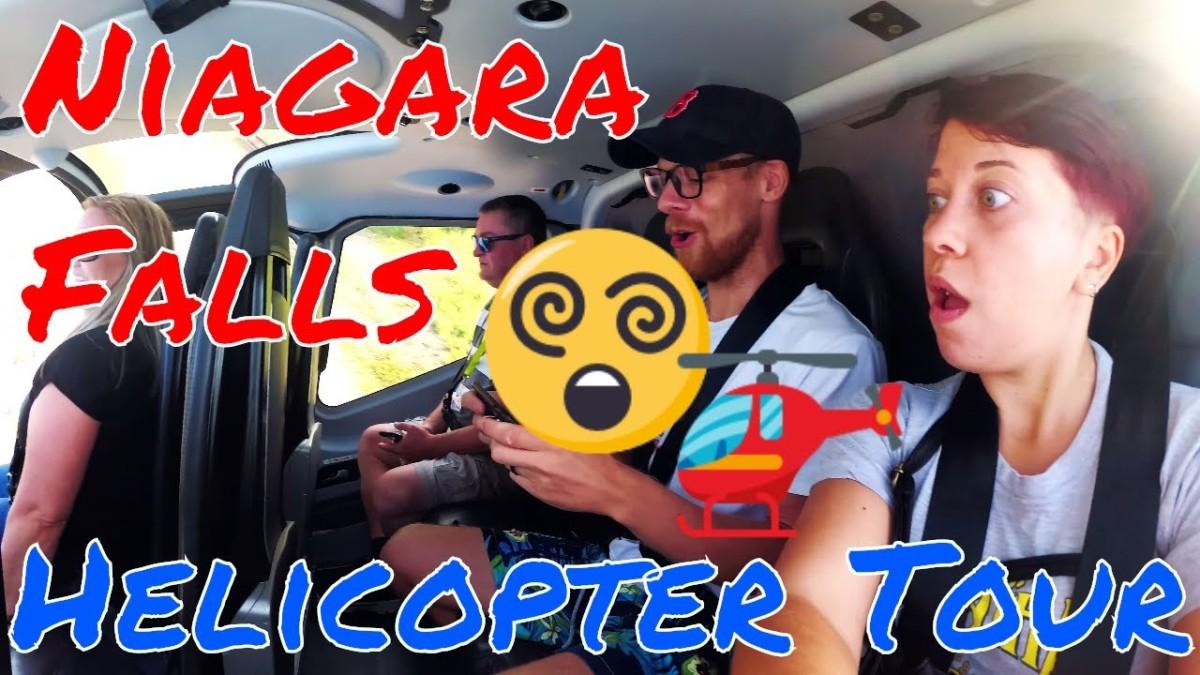 Helicopter Ride Over Niagara Falls(Video)