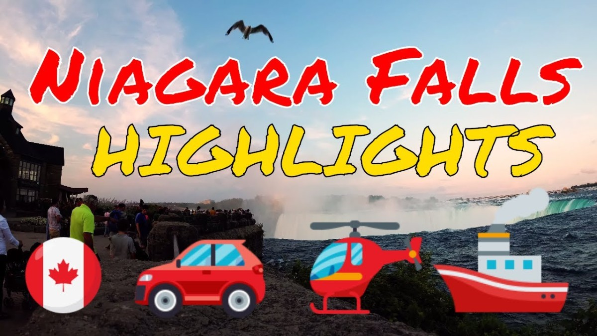 Video Highlights of Niagara Falls 2018