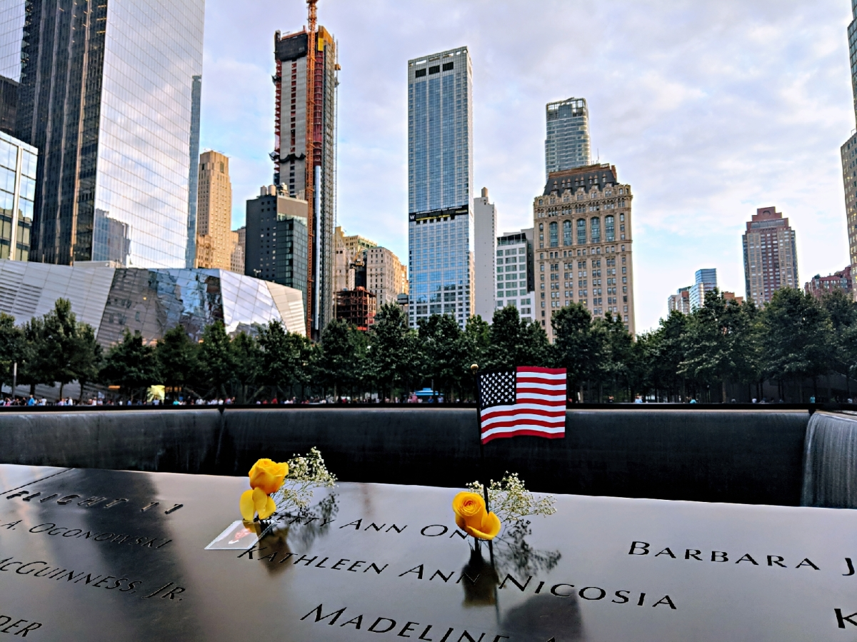 Visiting the 9/11 Memorial: New York, 2018