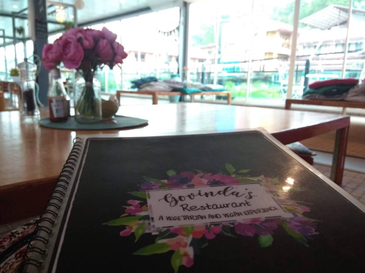 Govinda's Vegan Restaurant: Ao Nang, Thailand2018