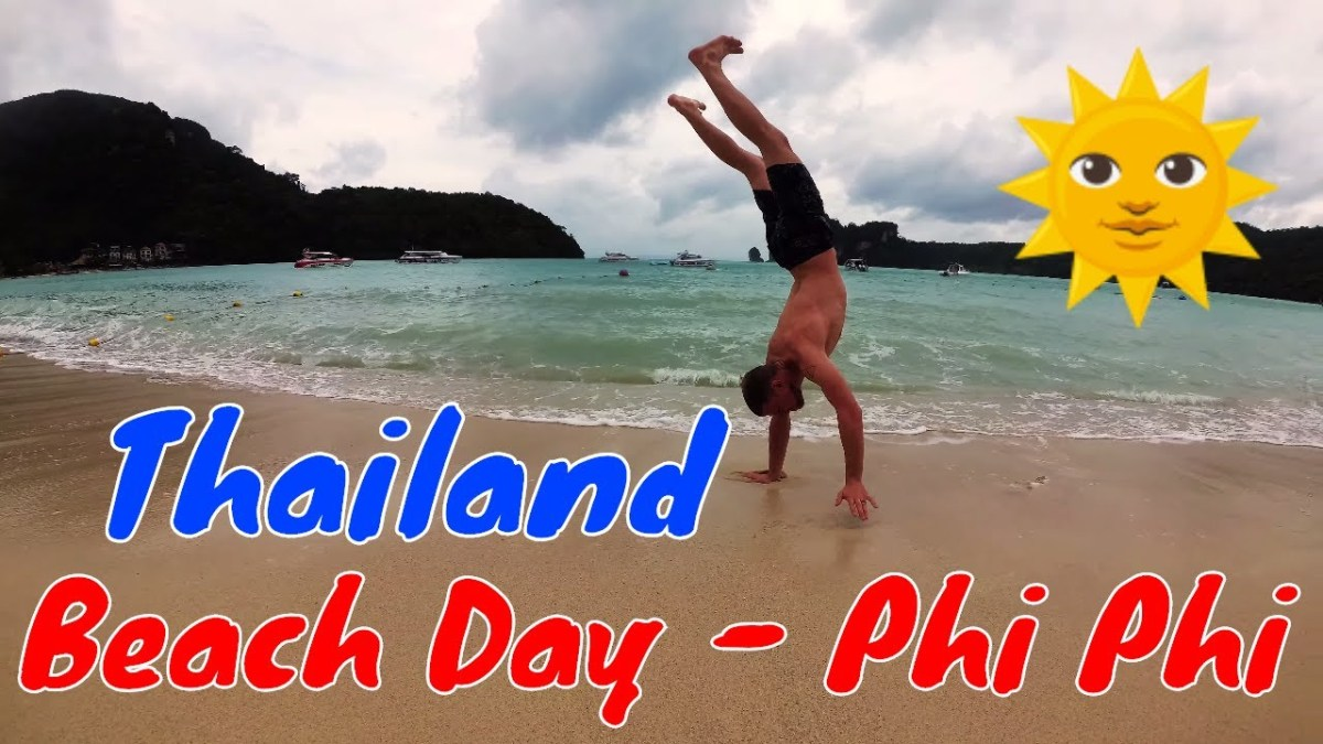 Beach Day on Phi Phi, Thailand (Video)