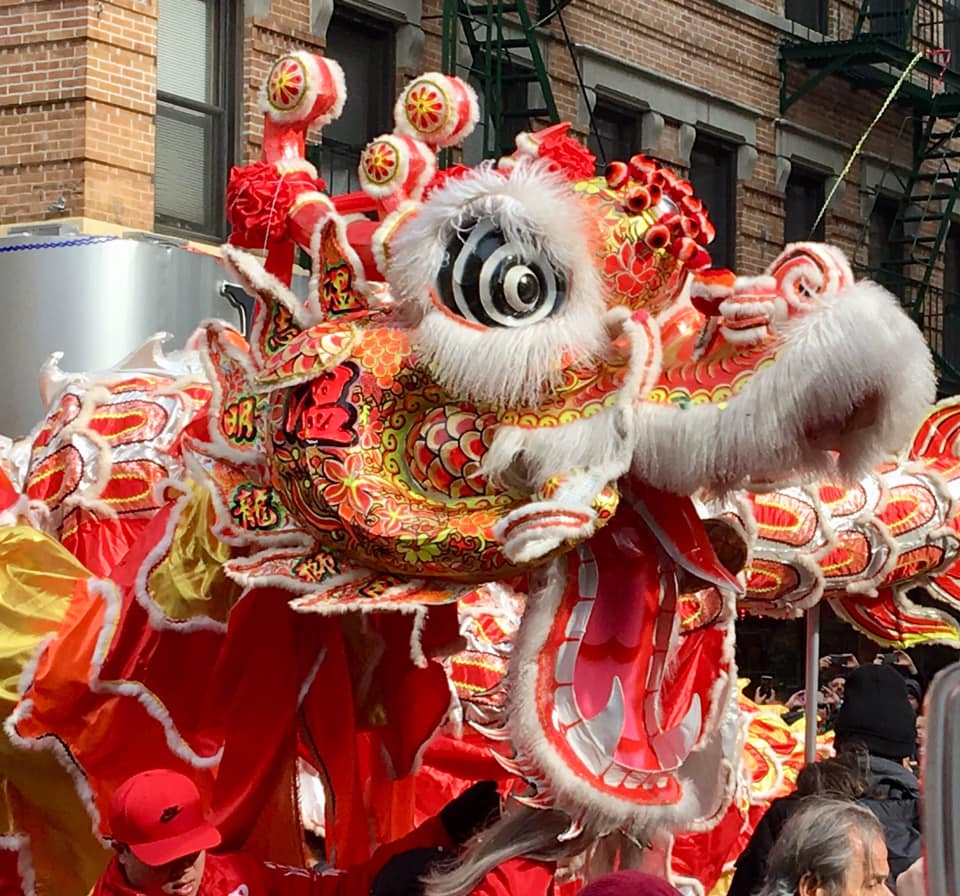 Chinese New Year Parade in Manhattan,NYC