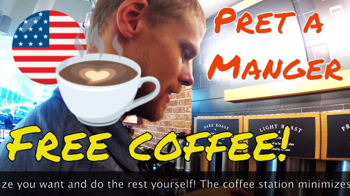 Free Coffee in NYC: Pret AManger