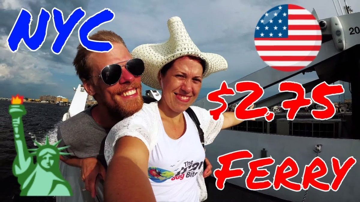 $2.75 Ferry Ride with a View: Rockaway Beach to Manhattan –NYC