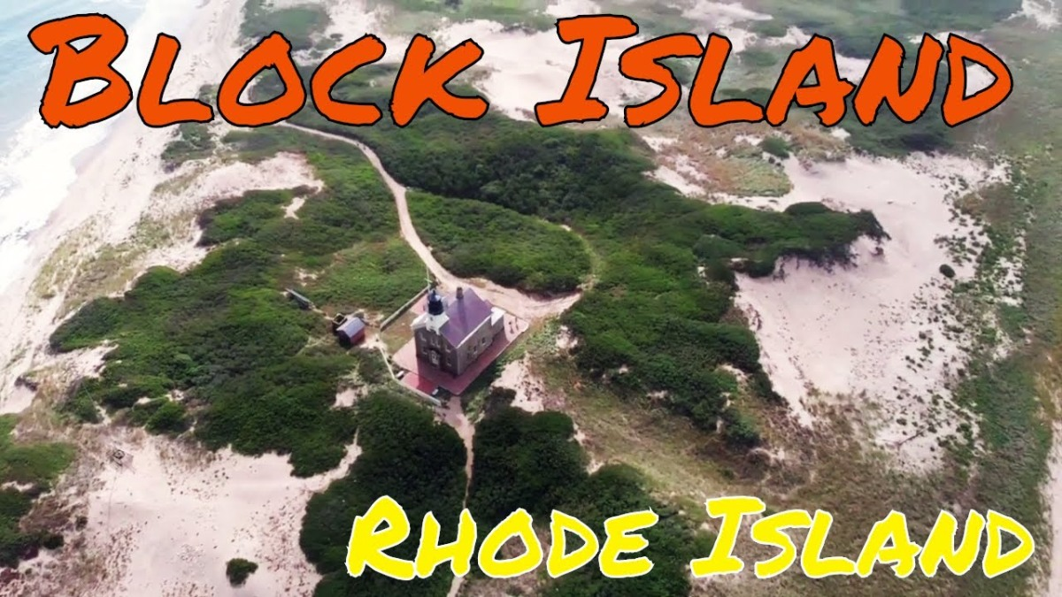 Droning on Block Island, Rhode Island