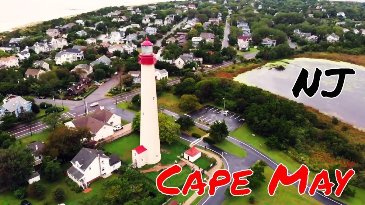 Cape May, New Jersey: DJI Mavic Air